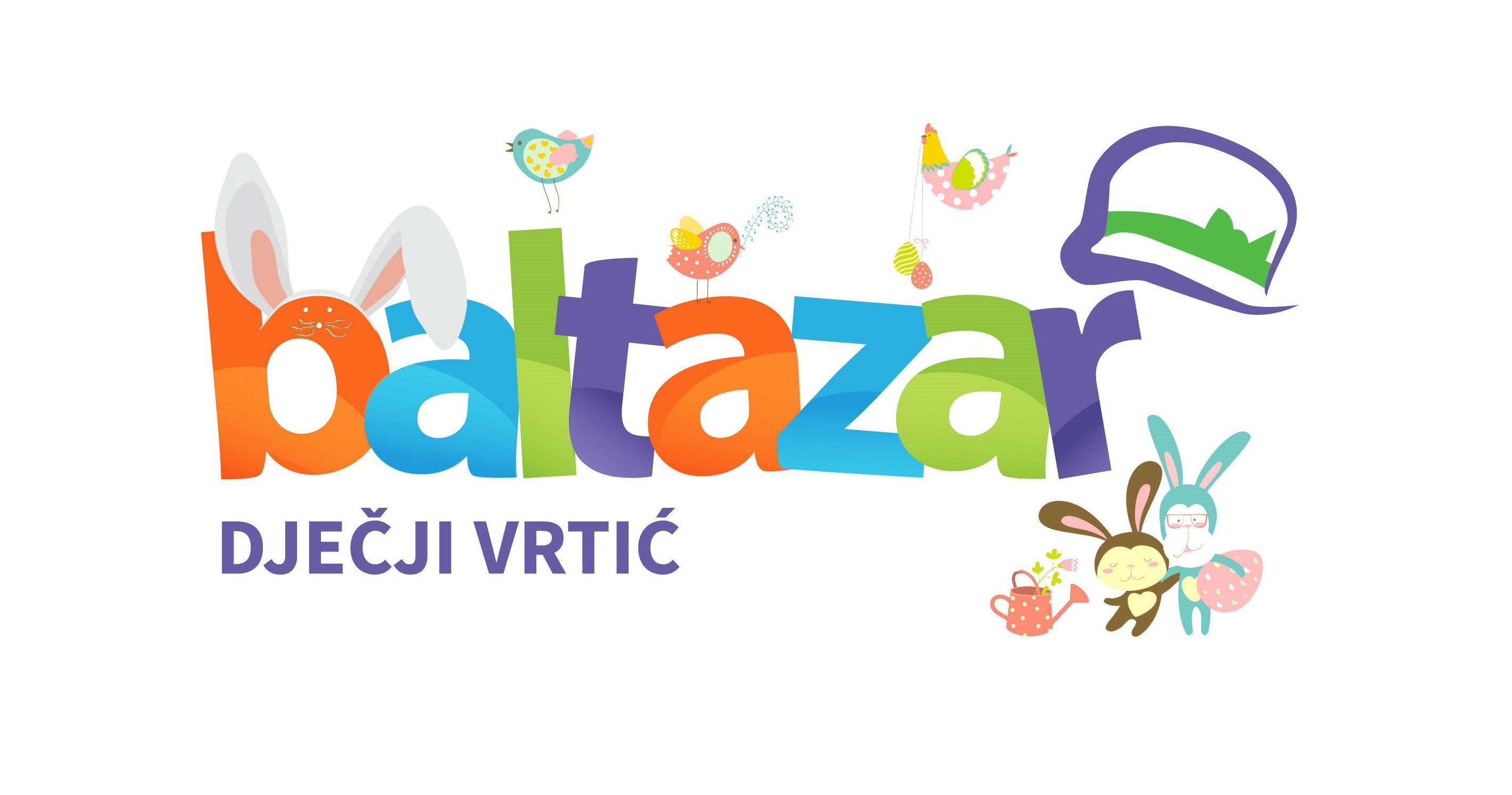 Sretan Uskrs žele vam djeca i djelatnici DV Baltazar