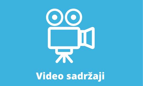 Video sadrzaji hover