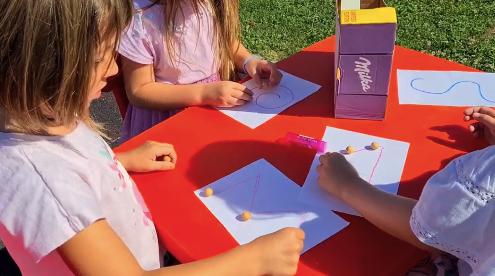 Likovno-stvaralačke aktivnosti vrtićke djece, srpanj 2020.